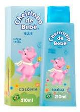 Colônia Infantil Cheirinho De Bebê Blue 210ml