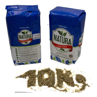 Yerba Mate Natura 20 U X 1/2 Kg Despalada Misiones Por Mayor