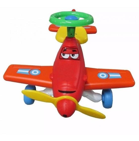 Avión Pulky Vegui Pata Pata Andador De Arrastre 1-3 Años