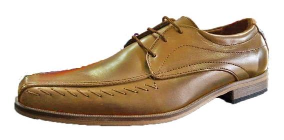 Zapato Vestir Cuero Suela Costuras | Morris (4501)