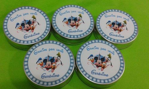 50 Latitas Personalizadas Mesa Dulces,souvenir,bautismo