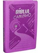 Bíblia Caminho Luxo Rosa