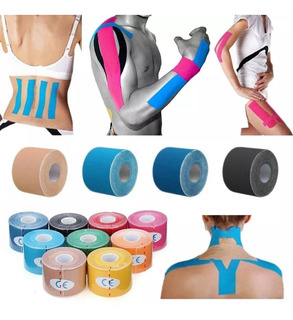 Fita Kit 10 Cinesiologia Muscular Fisioterapia Kinesio Tape