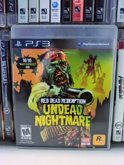Red Dead Redemption Undead Nightmare Ps3 | Sem Juros