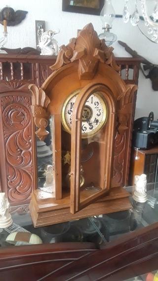Antiguo Reloj Ansonia. Dos Cuerdas