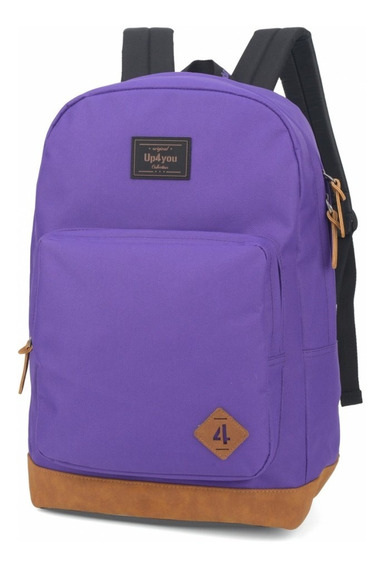 Mochila Luxcel Up4you Basica - Roxo Ms45564u-rx