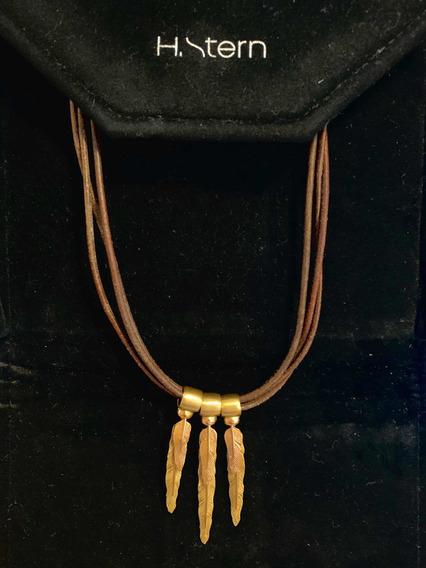 Colar H.stern Coleção Purãngaw Em Ouro Amarelo 18k