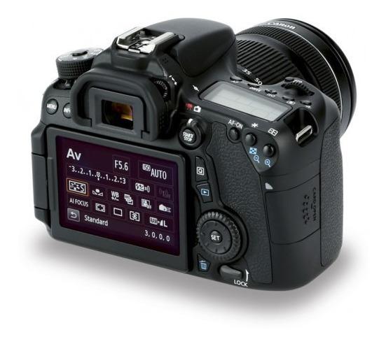 Canon 70d E Lente 18/135mm