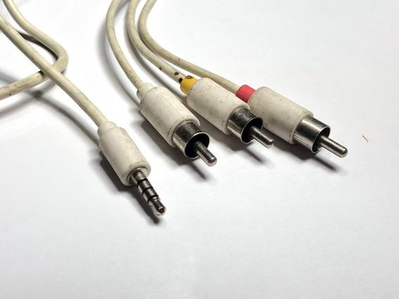 Cable Auxiliar / Rca Video Plug 3.5mm Longitud 1.5 Metros