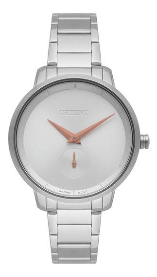 Relógio Orient Eternal Feminino Prata Fbss0077 C/nf