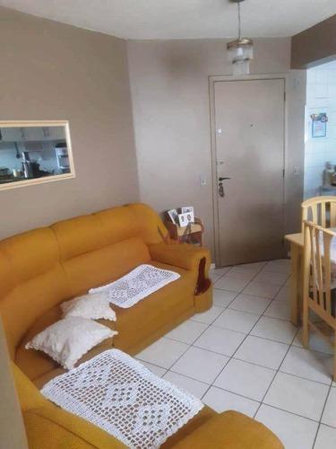 Apartamento À Venda, 40 M² Por R$ 180.000,00 - Vila Carmosina - São Paulo/sp - Ap0851