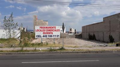 Terreno Comercial Av. Sombrerete Queretaro Qro.