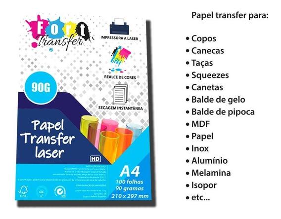 Papel Transfer 90g Altíssima Qualidade!!