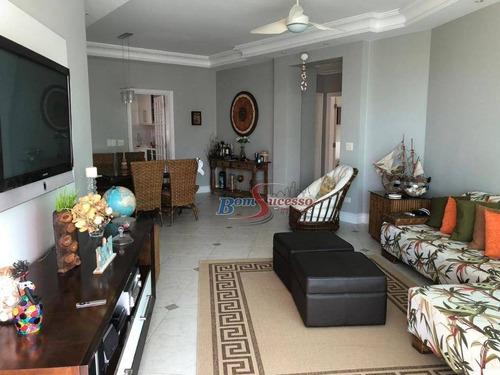 Imagem 1 de 14 de Apartamento Com 3 Dormitórios À Venda, 176 M² Por R$ 950.000,00 - Balneário Guarujá - Guarujá/sp - Ap2101