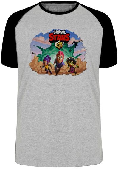 Camiseta Luxo Brawl Stars Game Androi Ios Nerd Geek Jogo Top