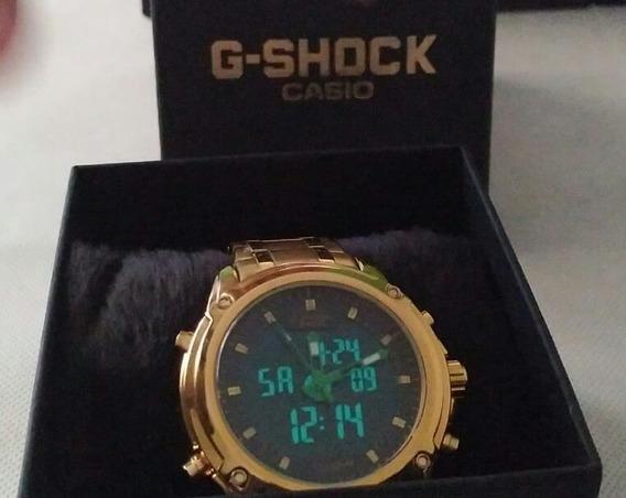 Relógio G-shock Edifice Dourado