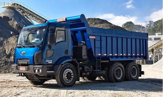 Ford Cargo 2629 Traçado Caçamba 12mts Rosseti Zero Km