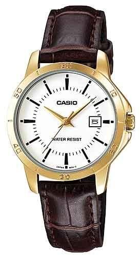 Relógio Casio Feminino Ltp-v004gl-7audf