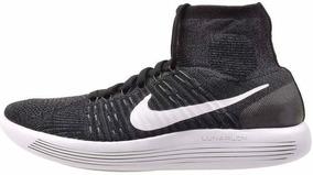 Tênis Nike Lunarepic Flyknit Preto Botinha Nr 38 Promoção