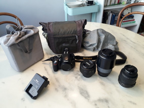Câmera Nikon D5100 + 3 Lentes + Bolsa Lowepro