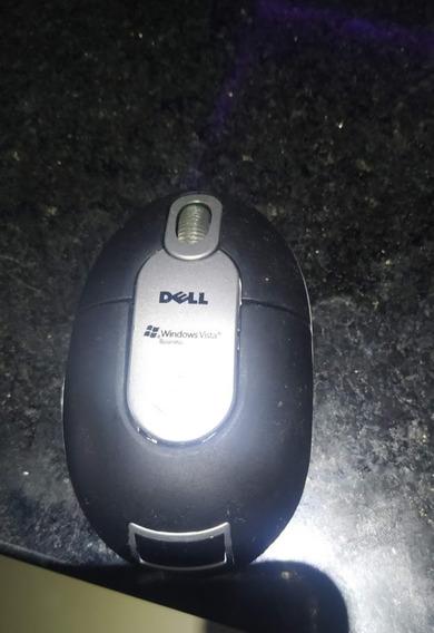 Mouse Dell Sem Fio Nano Mini P/ Notebook