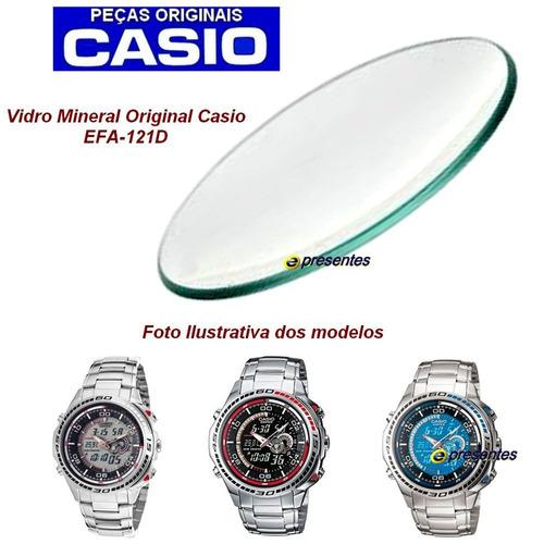 e3bb666ea4c9 Relógio Casio Edifice Efa-121 Termômetro Esportivo Masculino ...