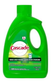 Cascade Detergente En Gel Lavavajilla Fresh Down 2.12kg P&g