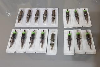 Catridges Tatuajes 20unid Membrana Medidas A Eleccion