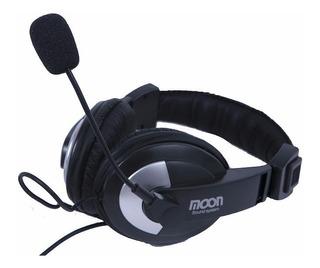 Auricular Con Microfono Moon Ma 2750 Uso Profesional Cjf