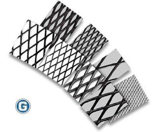 Metal Desplegado 250-30-30 En Hojas Mallas Metálicas Gramabi Cerramiento Reja Paño Material Desplegable Construcción