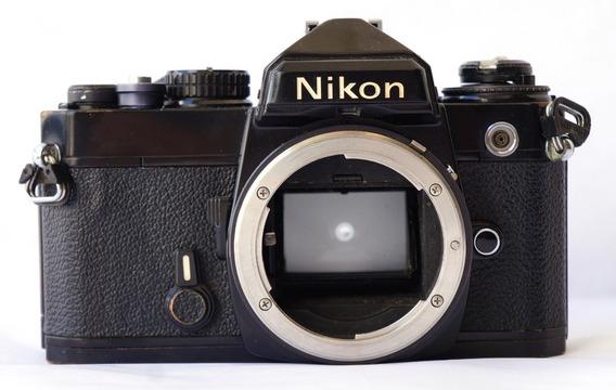 Câmera Analogica Nikon Fe