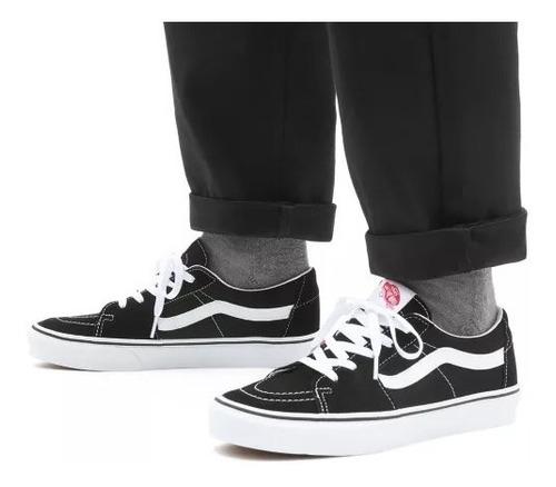 Zapatillas Vans Mod Sk8 Low Negro Blanco!!! 100% Originales ...