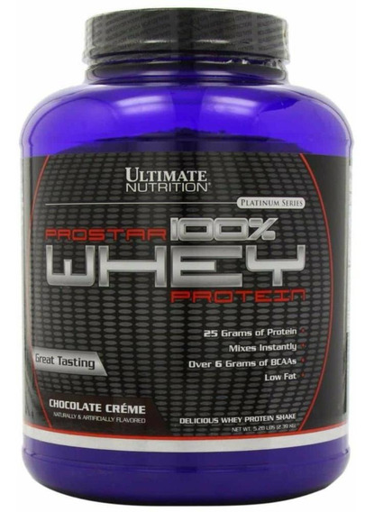 100% Whey Protein Prostar 2,39kg (5,28 Lbs) - Ultimate