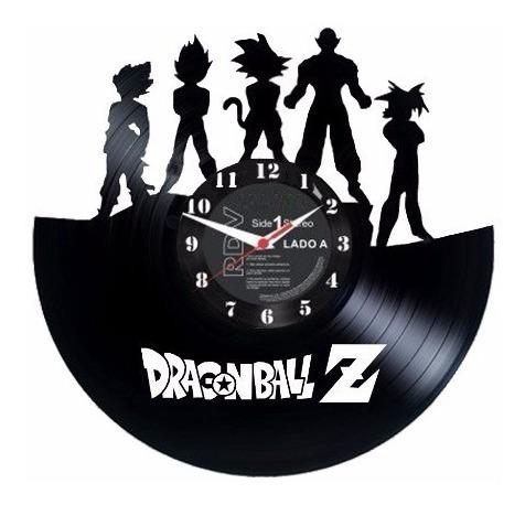 Dragon Ball Z Goku Vegeta Buma - Relógio De Parede