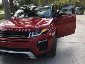 Land Rover Range Rover Evoque 2.0 Se Dynamic Ta 2017 Roja