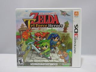 The Legend Of Zelda: Tri Force Heroes Nintendo 3ds ¡usado!