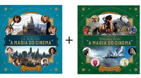 Kit C/2 Livros - A Magia Do Cinema - Harry Potter Vol. 1 E 2