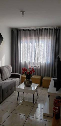 Imagem 1 de 22 de Apartamento À Venda, 61 M² Por R$ 235.000,00 - Jardim Hollywood - São Bernardo Do Campo/sp - Ap1038