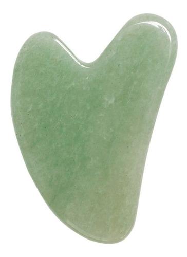 Imagen 1 de 2 de Gua Sha Masaje Facial Piedra Natural Onix