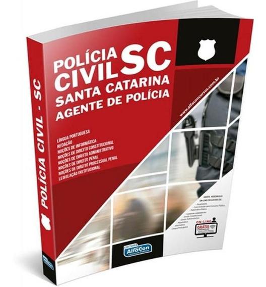 Agente Policia Civil De Santa Catarina - Sc