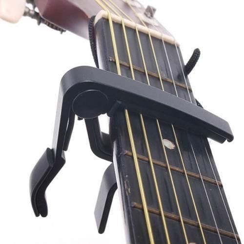Capotraste Importado De Guitarra Acustica Electrica