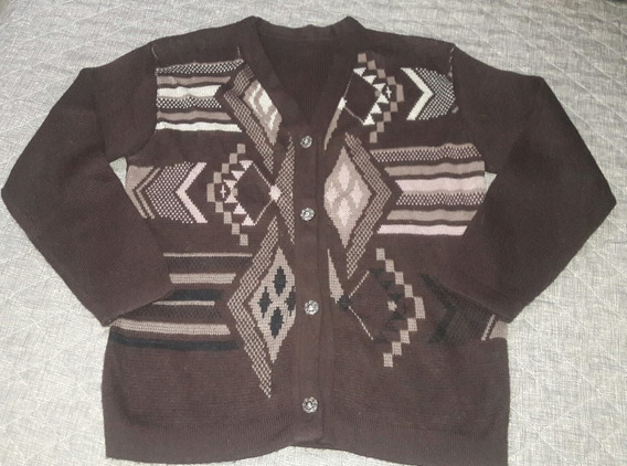R054 - Tricot Masculino Casaco Sueter Veste 48