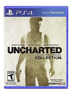 Uncharted The Nathan Drake Collection Ps4 Juego Cd Blu-ray Nuevo Original Físico Sellado En Stock Entrega Inmediata