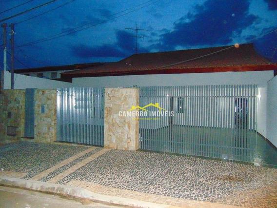 Casa Com 3 Dormitórios Para Alugar, 200 M² Por R$ 2.800,00/mês - Jardim Colina - Americana/sp - Ca2283
