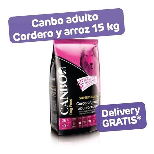 Canbo Adulto Cordero Y Arroz 15 Kg