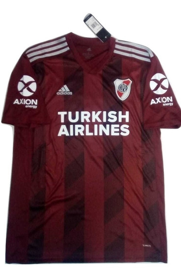 Camiseta River Plate 2019 Suplente Turkish Airlines 6 Cuotas