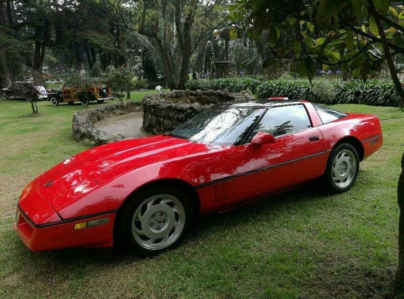 Chevrolet Corvette, Coupe 5200 Cc- Modelo 1987