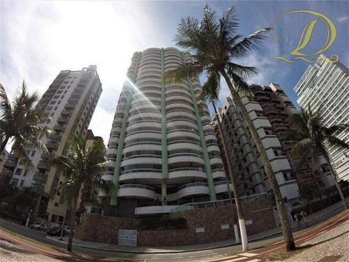 Imagem 1 de 19 de Apartamento Com 3 Dormitórios À Venda, 206 M² Por R$ 1.900.000,00 - Canto Do Forte - Praia Grande/sp - Ap4476