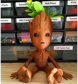 Vaso Baby Groot, Decoração, Jardinagem