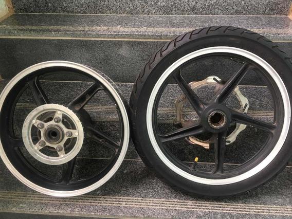 Rodas Honda Twister Dianteira E Traseira